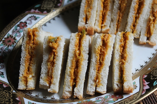 Spicy Veg Mayonnaise Sandwich Recipe – Tea Sandwich Recipes
