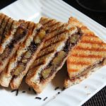 Nutella Banana Sandwich Recipe – Grilled Banana and Nutella Panini Recipe