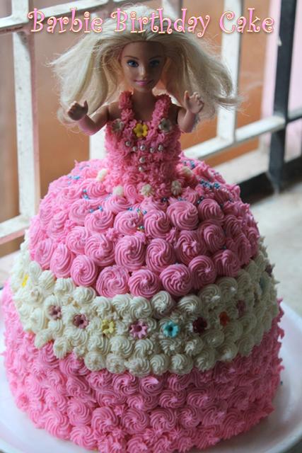 Barbie Birthday Cake Recipe How To Make A Barbie Doll