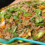 Stir Fried Rice Noodles Recipe – Vegetarian Rice Noodles Recipe