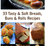 33 Bread & Buns Recipes – Tasty Bread, Buns & Rolls Recipes