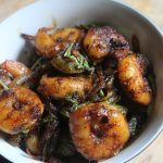 Prawn Pepper Fry Recipe