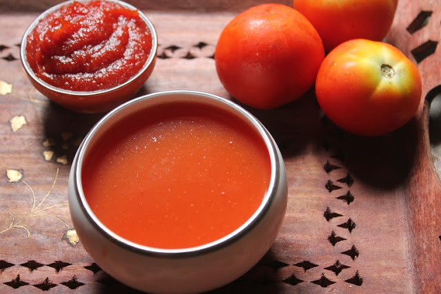 How to Make Tomato Puree & Tomato Paste at Home