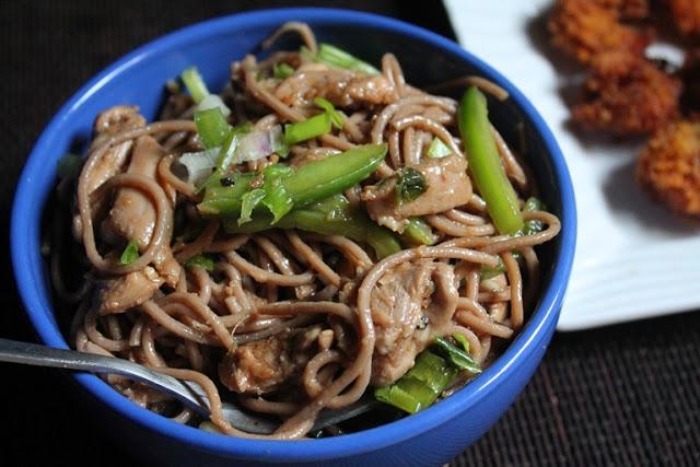 Soba Noodles & Chicken Salad Recipe