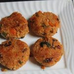 Millets Tikki Recipe – Samai Tikki Recipe – Healthy After School Snacks for Kids
