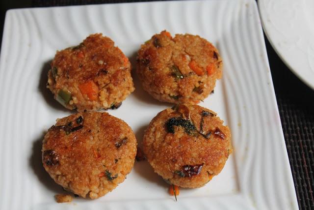 Millets Tikki Recipe – Samai Tikki Recipe – Healthy After School Snacks for Kids