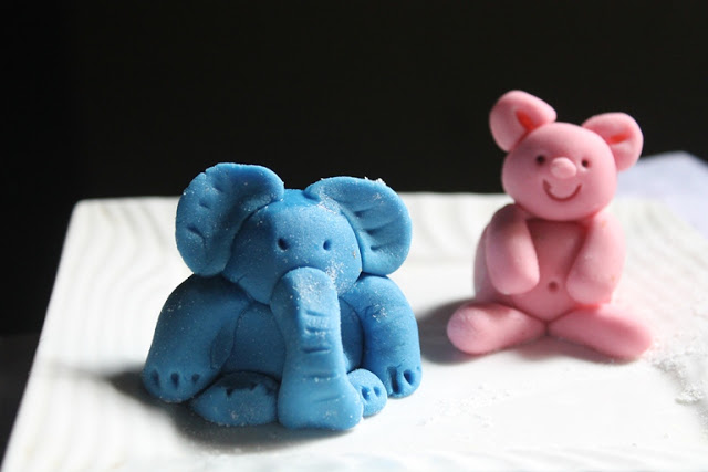 How to Make Fondant Elephant – Fondant Elephant Step By Step Tutorial