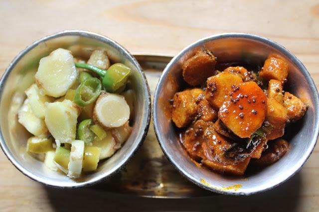 Healthy Maa Inji Pickle Recipe – Zero Oil Mango Ginger Pickle Recipe