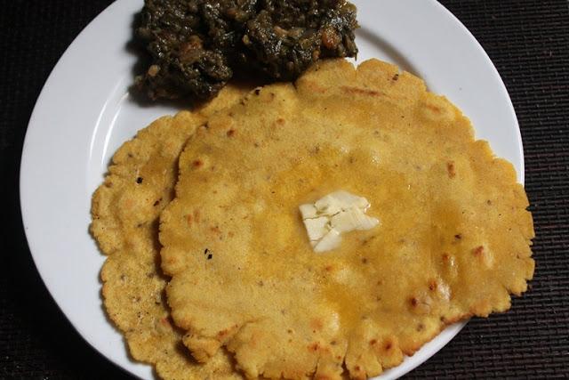 Makki Ki Roti Recipe – Punjabi Makki Ki Roti Recipe