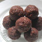 Chocolate Coconut Ladoos – Choco Coconut Ladoos Recipe