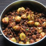 Brussel Sprouts Sabji Recipe – Indian Style Brussel Sprouts Recipe