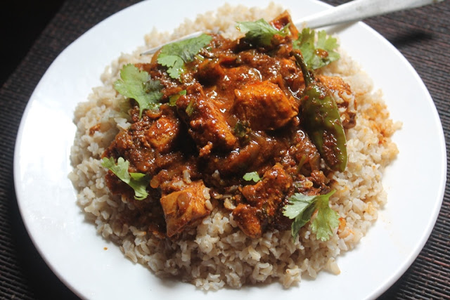 Indian Curry Rice Recipe – Indian Chicken Curry with Brown Rice