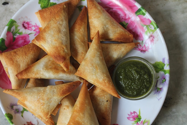 Baked Chicken Samosa Recipe – Baked Samosa Recipe