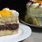 Vanilla and Chocolate Layer Cake Recipe