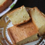 Eggless Sour Cream Cake Recipe