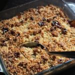 Pear and Cherry Crisp Recipe – Pear Cherry Crumble Recipe