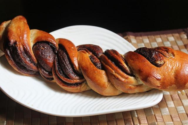 Nutella Braided Bread Recipe