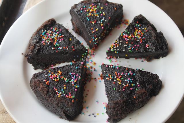Flourless Chocolate Fudge Cake Recipe