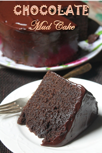 Easy Tall Chocolate Mud Cake Recipe
