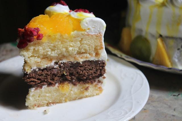 Nigella Eggless Vanilla Cake