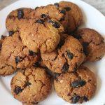 Eggless Oatmeal Raisan Cookies Recipe