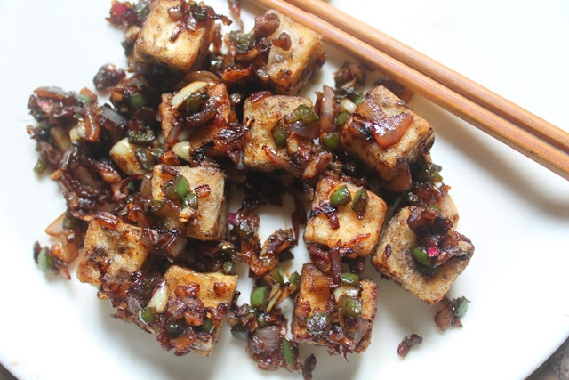Chinese Salt and Pepper Tofu Recipe – Restaurant Style Recipes