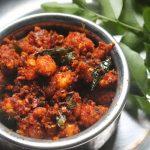 Prawn & Coconut Stir Fry Recipe – Chemmeen Thoran Recipe