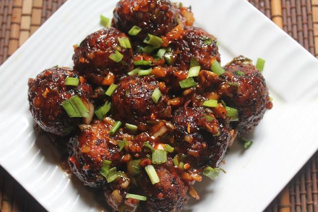Veg Manchurian Dry Recipe