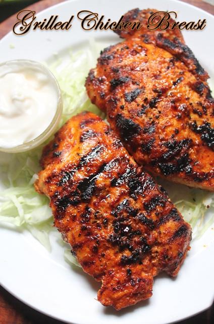 Spicy Grilled Chicken Breast Recipe