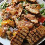 Spicy Grilled Chicken Salad Recipe – Chicken Salad with Thousand Island Dressing