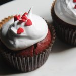 Eggless Red Velvet Cupcakes Recipe – Red Velvet Cupcakes made using Beetroot