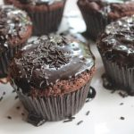 Dark Fantasy Cupcakes Recipe – Eggless Recipe