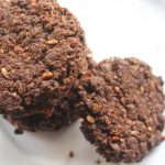 Eggless Chocolate Oatmeal Cookies Recipe
