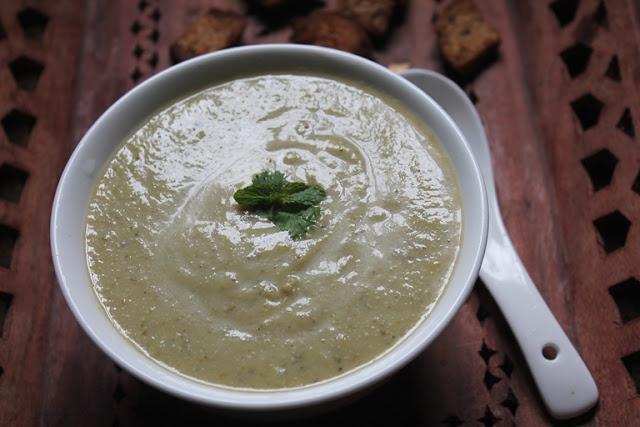 Healthy Broccoli Soup Recipe