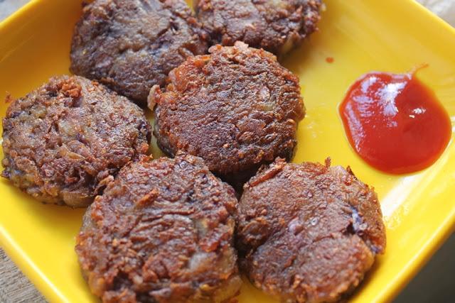 Purple Cabbage Tikki Recipe – Cabbage & Aloo Cutlet Recipe