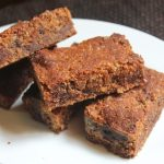 Eggless Peanut Butter Chocolate Chip Energy Bars Recipe