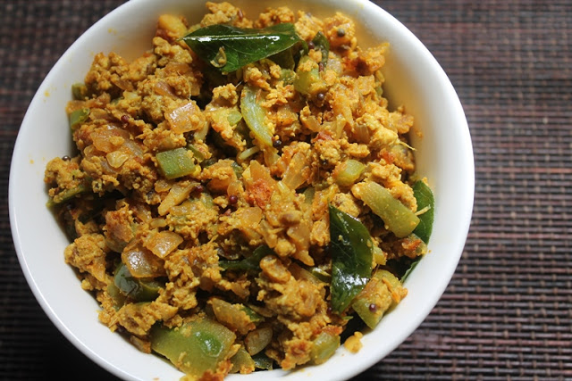 Ridge Gourd & Egg Bhurji Recipe – Peerkangai Egg Poriyal Recipe