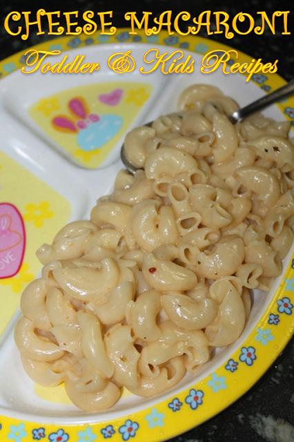 Easy Cheese Macaroni Recipe Kids Toddler Recipes Yummy Tummy