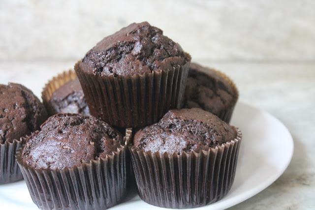 Eggless Chocolate Muffin Recipe
