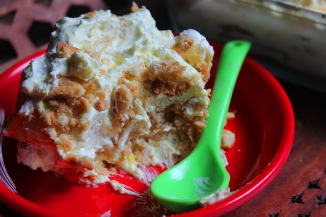Pineapple Biscuit Pudding Recipe