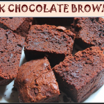 Fudgy Dark Chocolate Brownies Recipe