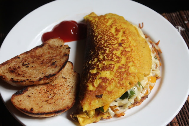 Vegan Tofu Omelette Recipe – Omelet without Eggs
