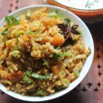 Brown Basmati Rice Masala Pulao Recipe – Brown Basmati Rice Pulav Recipe