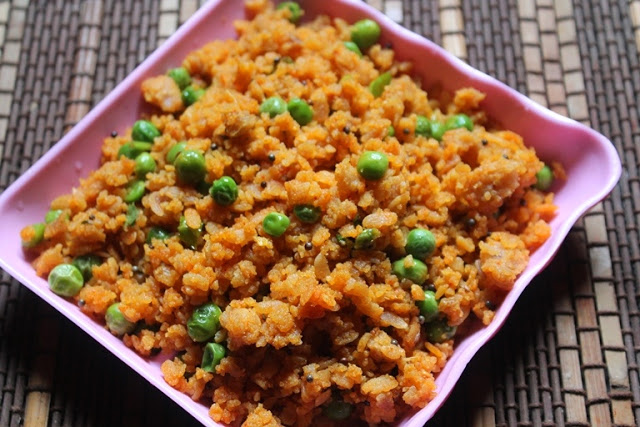 Peas Poha Recipe