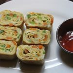 Japanese Rolled Omelette Recipe – Tamagoyaki Recipe