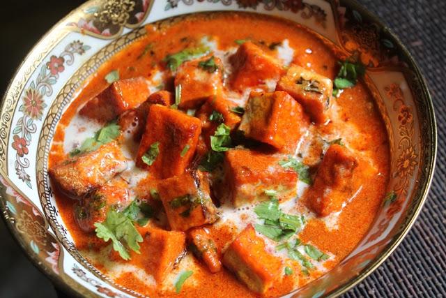 Tofu Makhani Recipe – Tofu Butter Masala Recipe