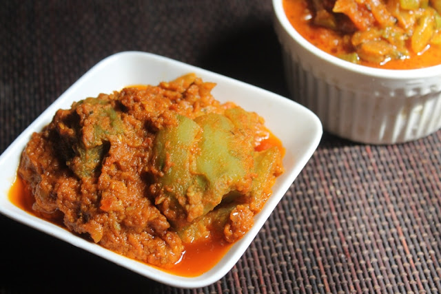 Stuffed Ridge Gourd Curry Recipe – Peerkangai Curry Recipe
