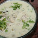 White Chicken Stew Recipe – Chicken Sodhi Recipe