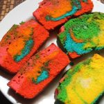 Rainbow Loaf Cake Recipe