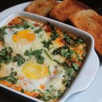 Italian Baked Eggs Recipe – Baked Eggs in Marinara Sauce